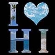 I Heart Hi  Art Print