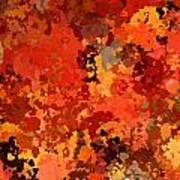 I Love Autumn Art Print