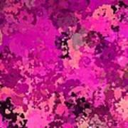 I Love Pink Art Print