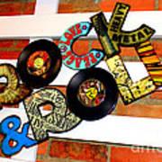 I Love Rock N Roll   Art Print