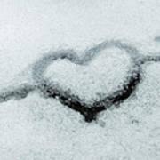 I Love The Winter Snow Art Print
