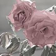 I Love You Rose Art Print