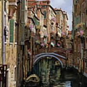 I Ponti A Venezia Art Print