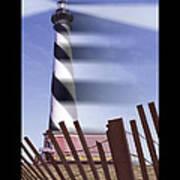 I Saw The Lighthouse Move Art Print