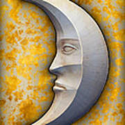 I See The Moon 1 Art Print by Wendy J St Christopher