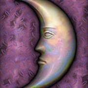 I See The Moon 2 Art Print