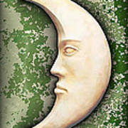 I See The Moon 3 Art Print by Wendy J St Christopher