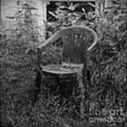 I Used To Sit Here Art Print by Luke Moore