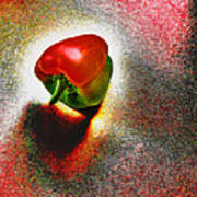 I Vote For A Really Hot Sweet Pepper Art Print