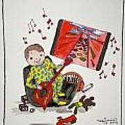 I Won Dad Art Print by Mary Kay De Jesus
