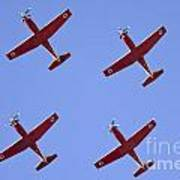 Iaf Flight Academy Aerobatics Team 4 Art Print