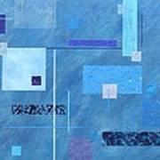 iBlue Art Print