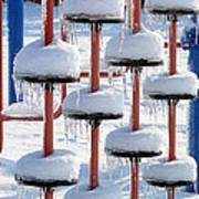 Ice And Snow-5637 Art Print