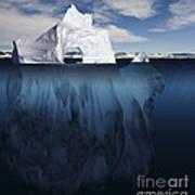 Ice Arch Iceberg Art Print