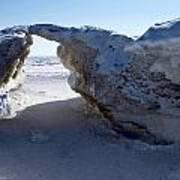 Ice Arch Art Print