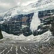 1m3545-01-ice Avalanche On Mt. Victoria Art Print