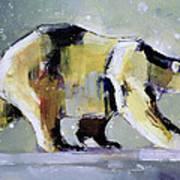 Ice Bear Print by Mark Adlington