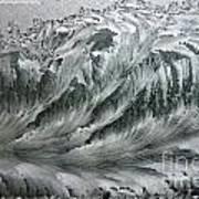 Ice Breaker Waves Art Print