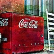 Ice Cold Coca Cola Art Print