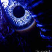 Ice Eye Art Print