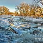 Ice Falls 2 Art Print by Baywest Imaging
