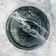 Ice Fishing Hole 8 Art Print