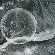 Ice Fishing Hole Art Print
