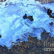 Ice Formation Art Print