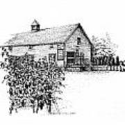 Ice House Winery Art Print