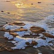Ice Rocks Art Print