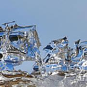Ice Ships Art Print