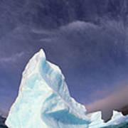 Iceberg Adrift Near South Orkney Art Print
