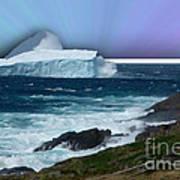 Iceberg Escape Art Print by Barbara Griffin