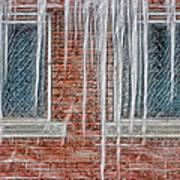 Iced Over Art Print