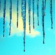 Iced Sky Art Print