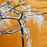 Iced Tree Art Print