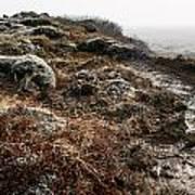 Iceland Barren Landscape Print by Francesco Emanuele Carucci