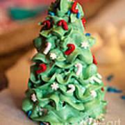 Icing Christmas Tree Art Print