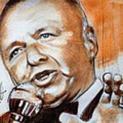 Icon Frank Sinatra Art Print