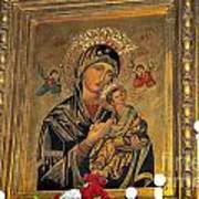 Icon In Marbella Church Art Print