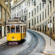 Iconic Lisbon Streetcar No. 28 IIi Art Print