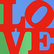 Iconic Love Art Print