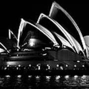 Iconic Sydney Opera House Art Print