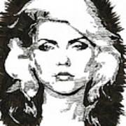 Icons - Blondie Art Print