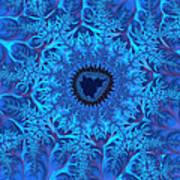 Icy Blue  Art Print