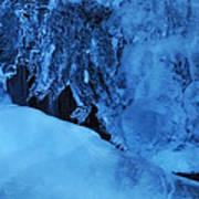 Icy Grimace Art Print