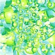Icy Lime Art Print