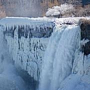 Icy Niagara Falls Art Print