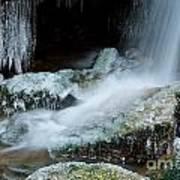 Icy Patapsco Waterfall 2 Art Print