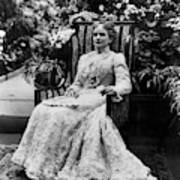 Ida Mckinley (1847-1907) Art Print